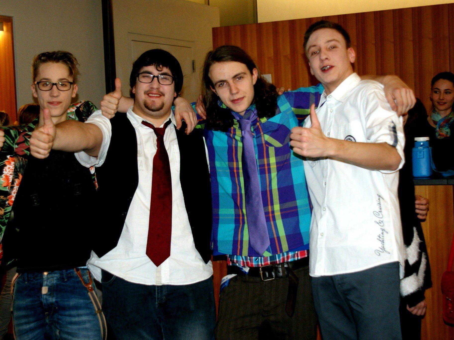 Vier coole Jungs, die ihren Traum verwirklichen!
