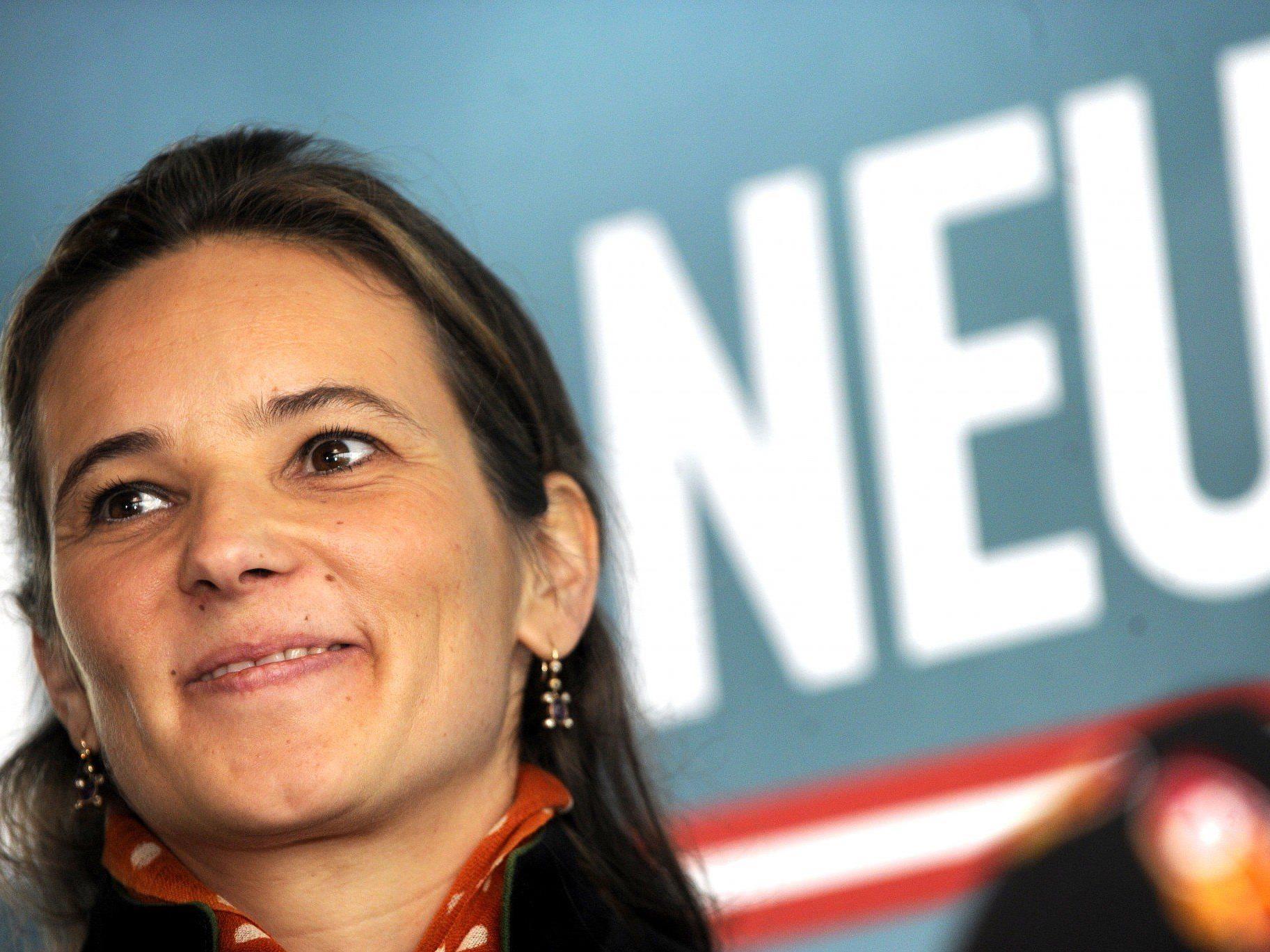 Ulrike Haider tritt für das BZÖ zur EU-Wahl an.