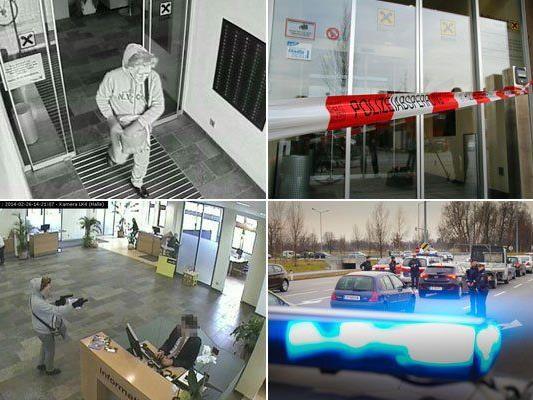 Alarmfahndung nach Banküberfall in Feldkirch-Altenstadt ergebnislos - Zeugen gesucht.
