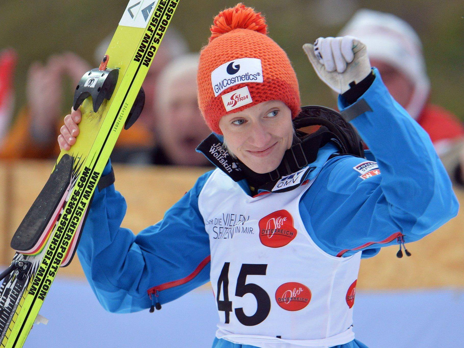 Skispringerin Daniela Iraschko-Stolz bekennt sich offen zu einer gleichgeschlechtlichen Beziehung.