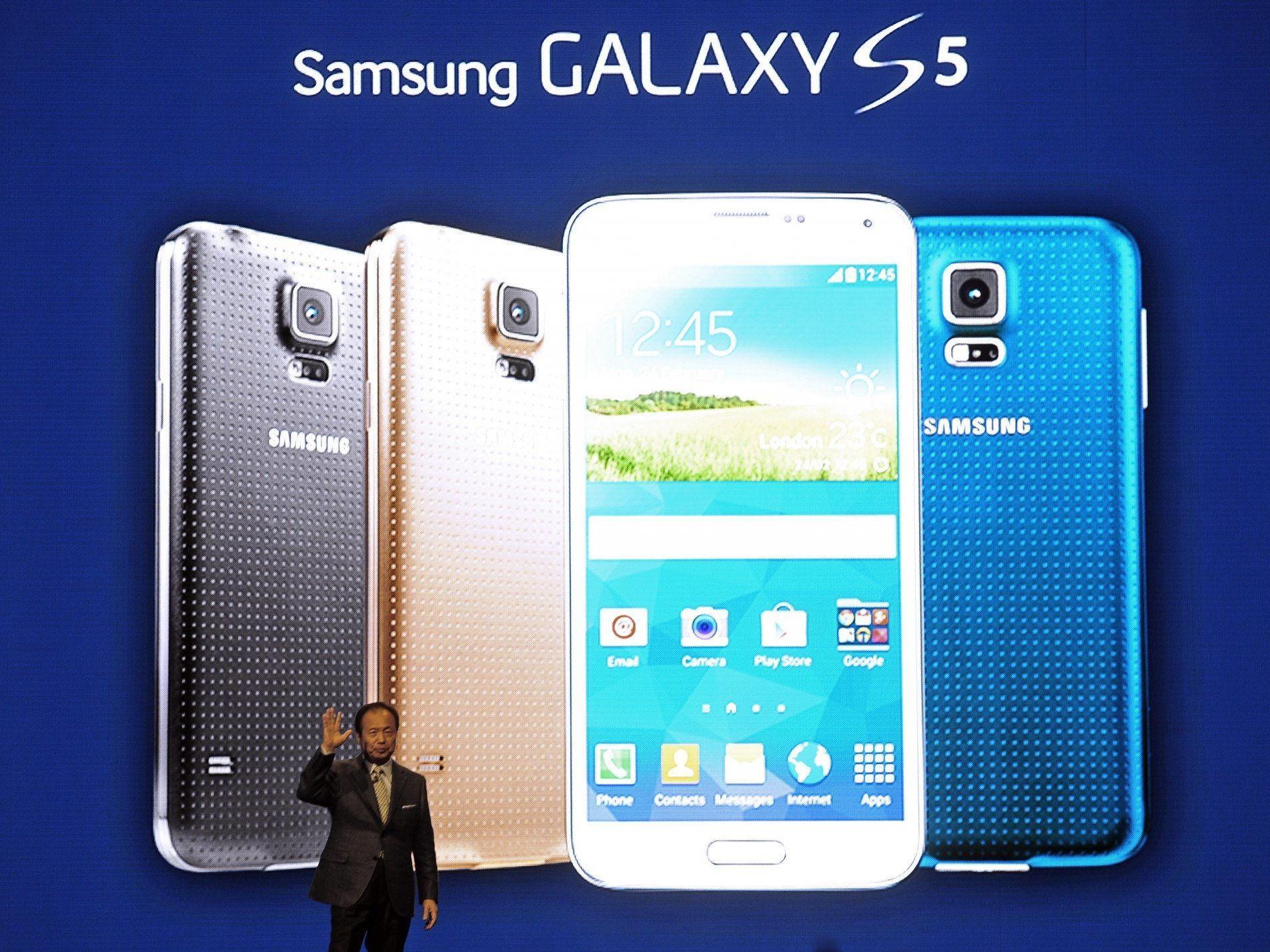 Samsung stellt sein neues Top-Android-Handy vor.