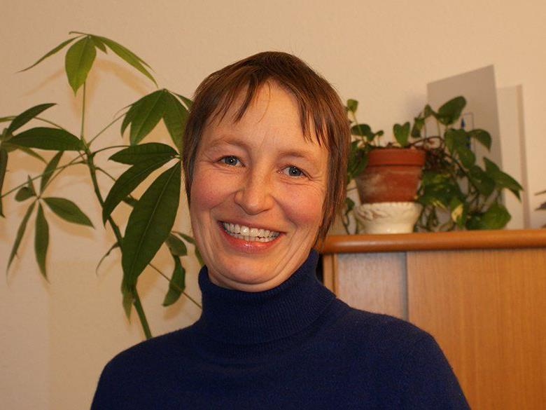 """Elisabeth Lindner ist als zweite Koordinatorin für """"Frau Holle"""" in Hard tätig."""