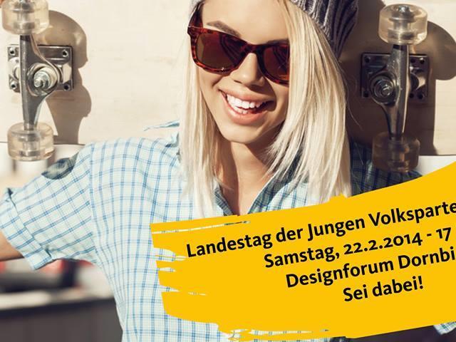 Der Landestag der Jungen Volkspartei geht am Samstag in Dornbirn über die Bühne.