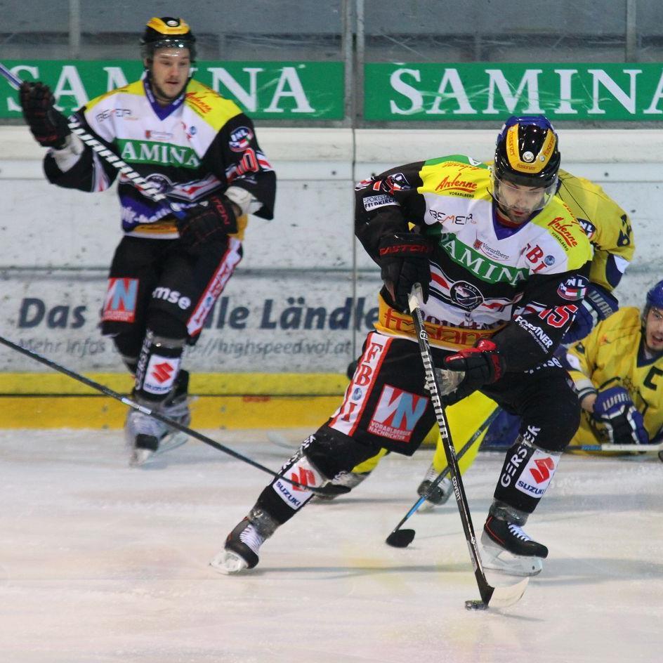 Valentin Schennach erzielte beim 11:1-Bestschießen gegen Celje zwei Treffer.