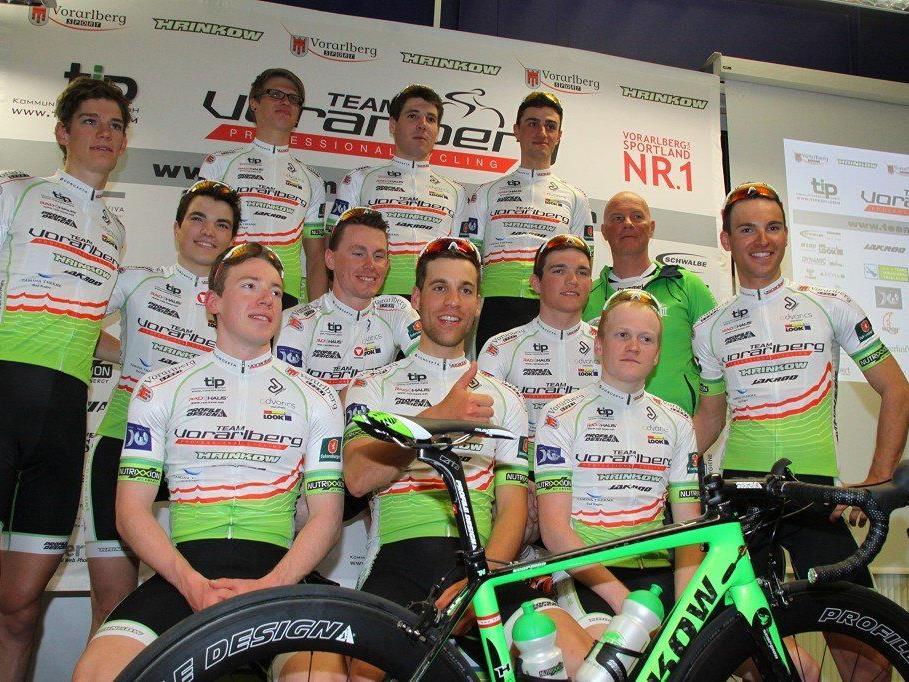 Acht Fahrer vom Team Vorarlberg sind beim GP Lugano am Start.