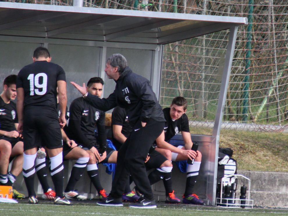 SW Bregenz-Coach Hans Kogler ist mit der bisherigen Vorbereitung zufrieden, obwohl die Feinabstimmung noch fehlt.