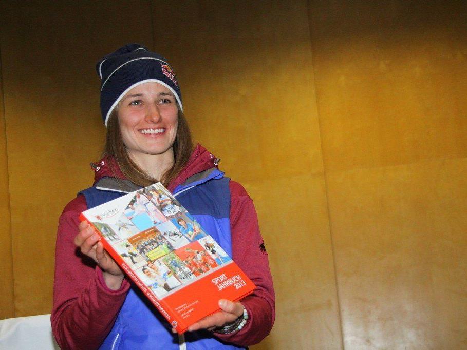 Weltmeisterin Nadine Wallner ist natürlich bei der Vorarlberg Premiere im Freeride auch dabei.