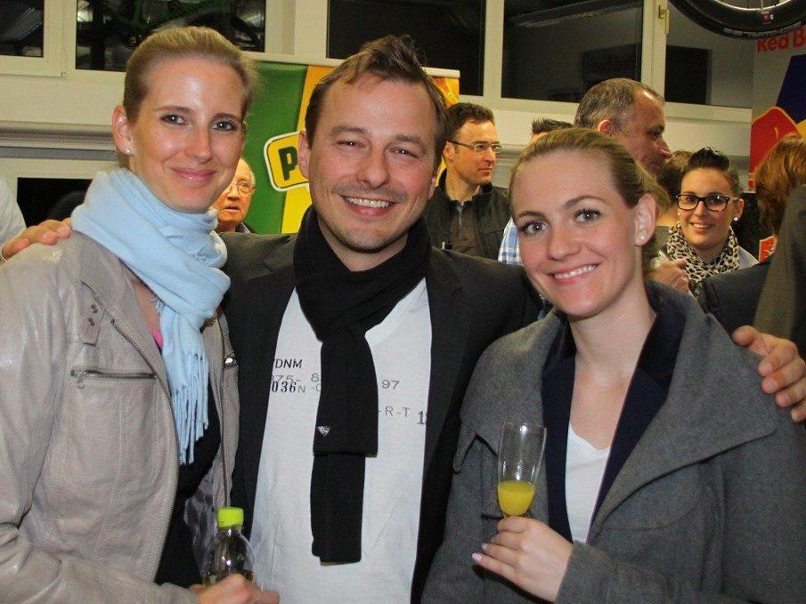 Viele Freunde des Radsports waren bei der Vorstellung des neuen Team Vorarlberg im Radhaus dabei.