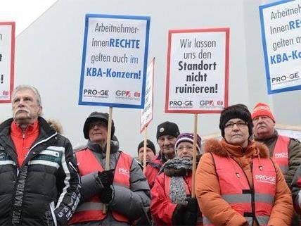 Der Streik bei KBA ist beendet worden.