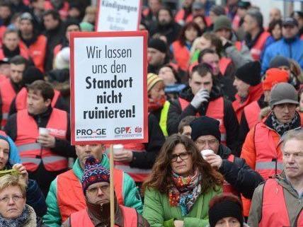 Es ist nicht das erste Mal, dass die KBA-Mödling-Mitarbeiter streiken.