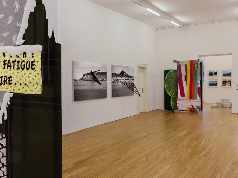 Ausstellungsansicht KUB Sammlungsschaufenster