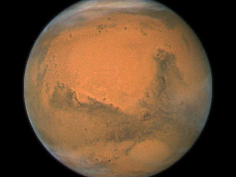 Rückreise vom Roten Planeten: besondere Konstellation zwischen Erde und Mars nötig.