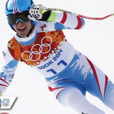 Mathias Mayer holt etwas überraschend Olympia-Gold in der Abfahrt.
