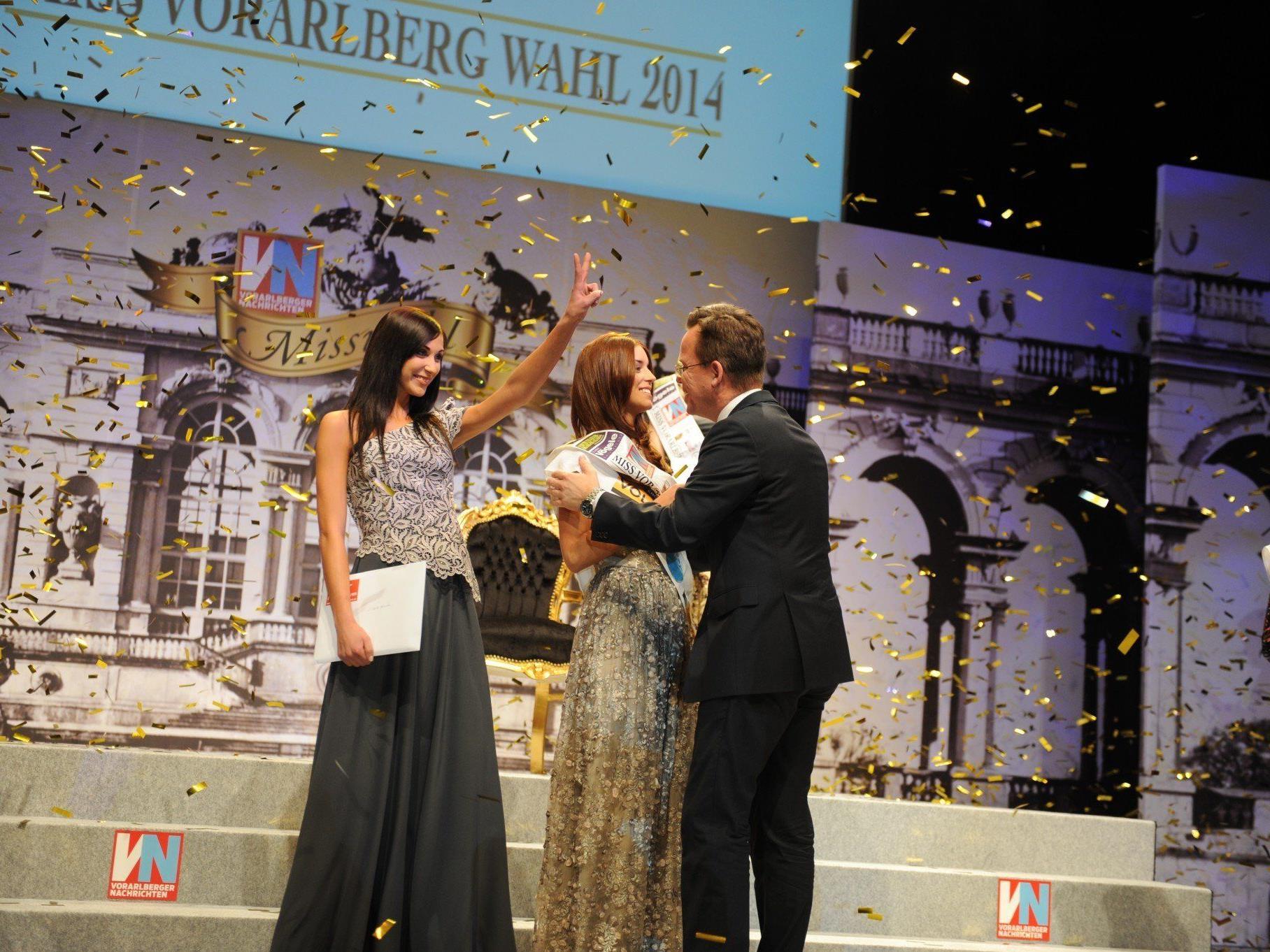 Sarah aus Dornbirn ist die neue Miss Vorarlberg 2014.