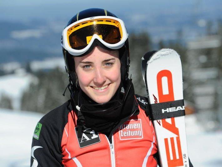 Die Nenzingerin Michelle Morik wurde als beste ÖSV Athletin in Riefensberg Zwölfte.