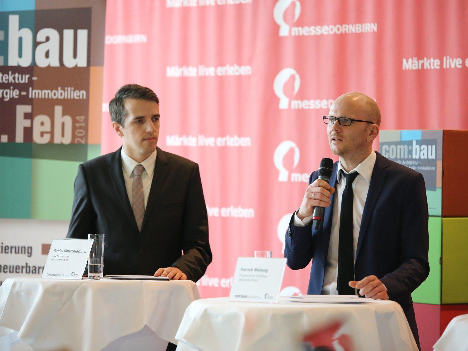 Rechnen mit erfolgreicher Premiere: Messe-Geschäftsführer Daniel Mutschlechner (l.) und Projektleiter Patrick Malang.