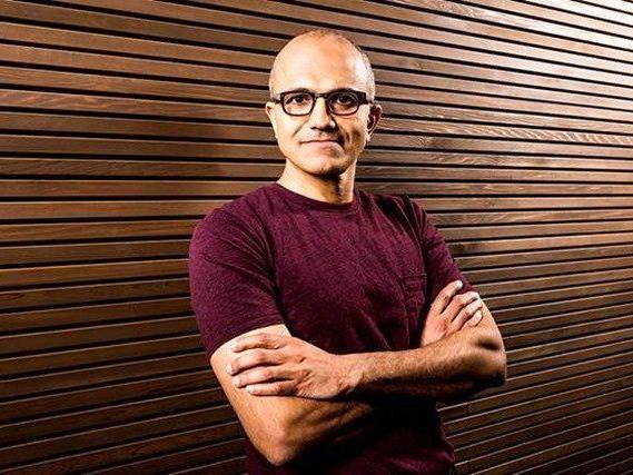 Microsoft mit neuem Chef: Satya Nadella folgt auf Steve Ballmer.
