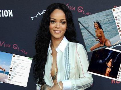 Auf Instagram präsentiert sich Rihanna immer besonders sexy.