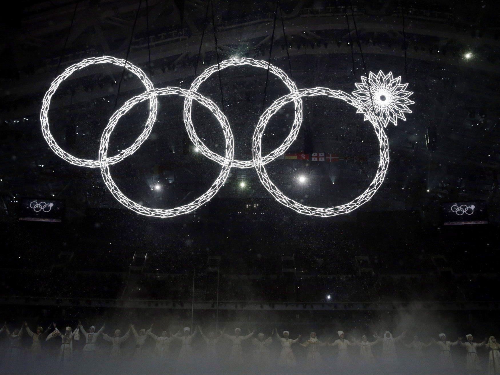 Irgendwie geht es dann doch als olympisches Logo durch...