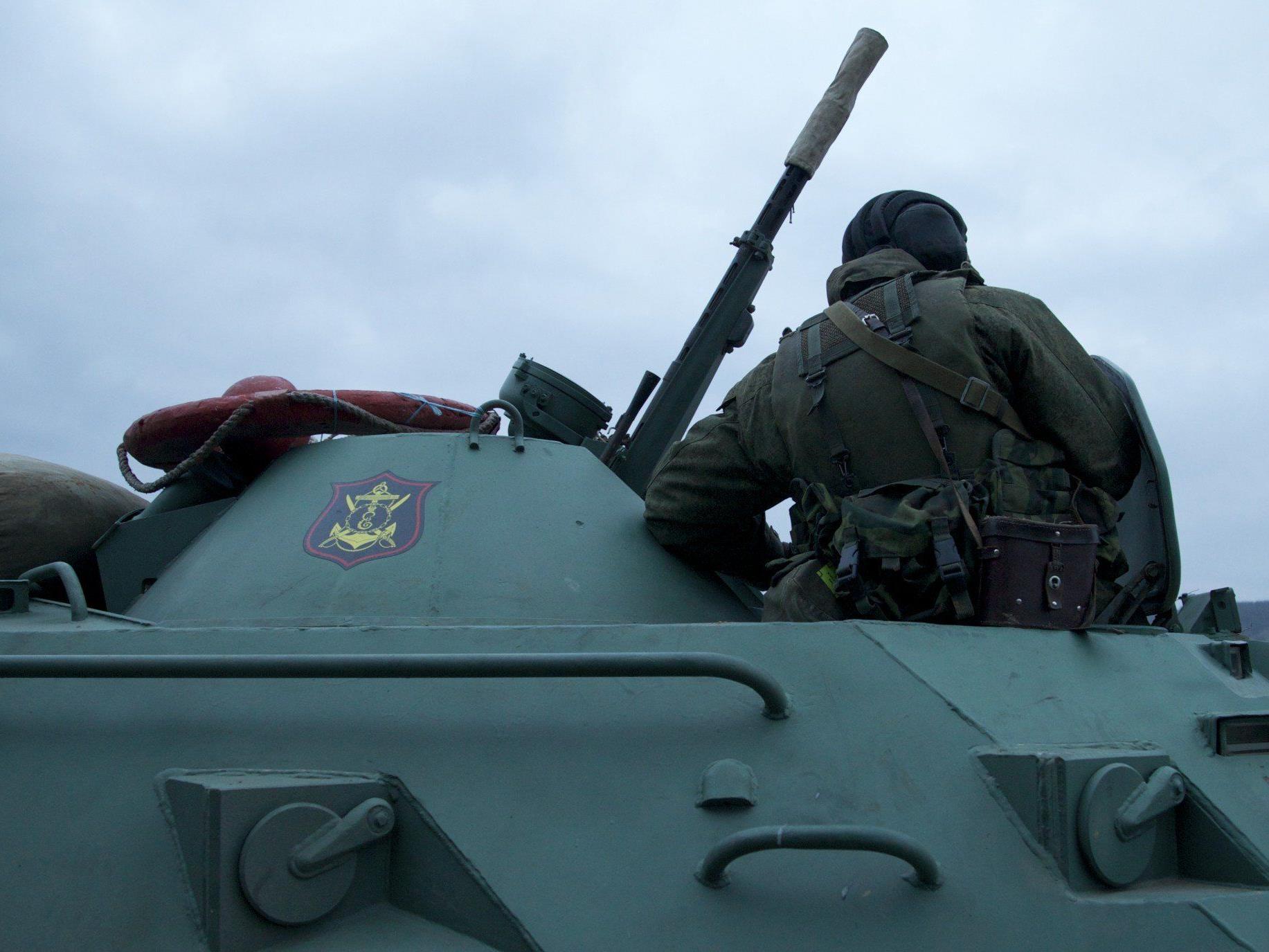 Russland soll 2.000 Soldaten auf die ukrainische Krim beordert haben.