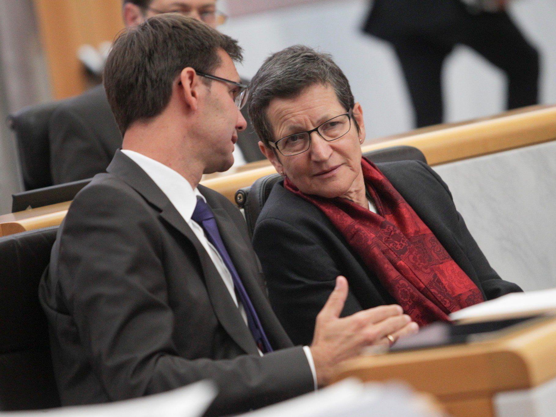 Schmid scheidet mit September aus der Politik aus - Auf Nachfolge-Spekulationen wollte sich Wallner nicht einlassen,