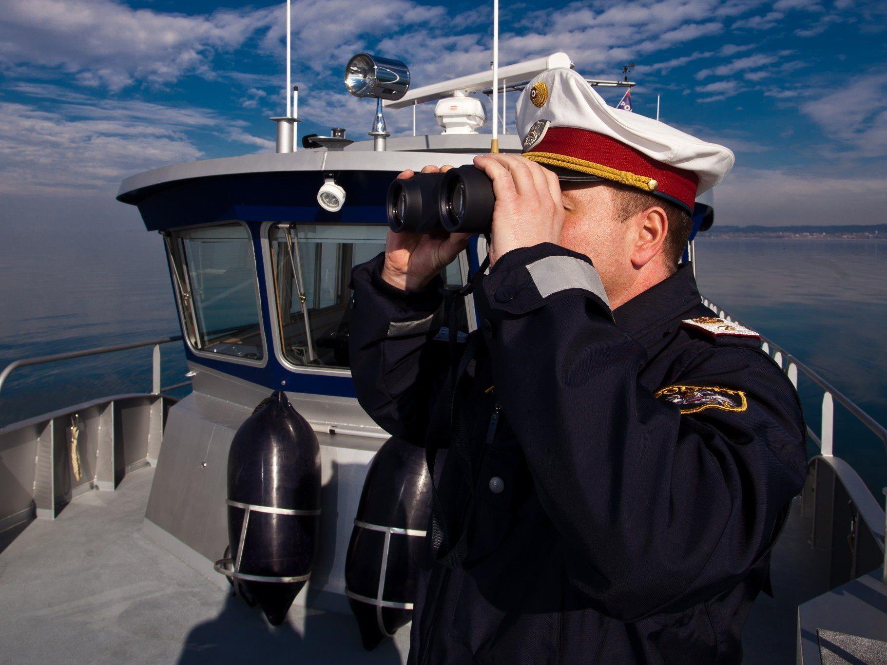 Die Seepolizei verzeichnete 2013 einen Anstieg bei den Noteinsätzen auf dem Bodensee.