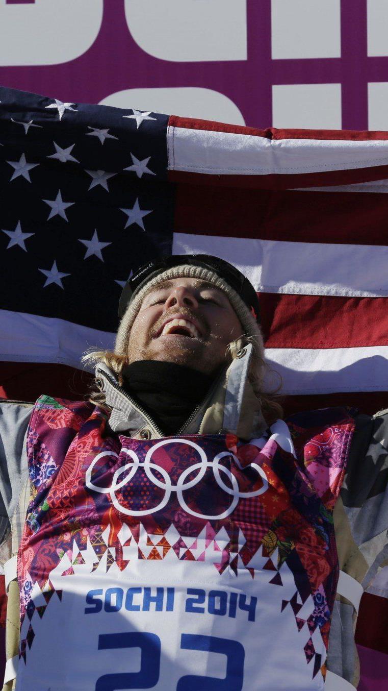 Slopestyle Herren: Die erste Goldmedaille in Sotschi geht an die USA.