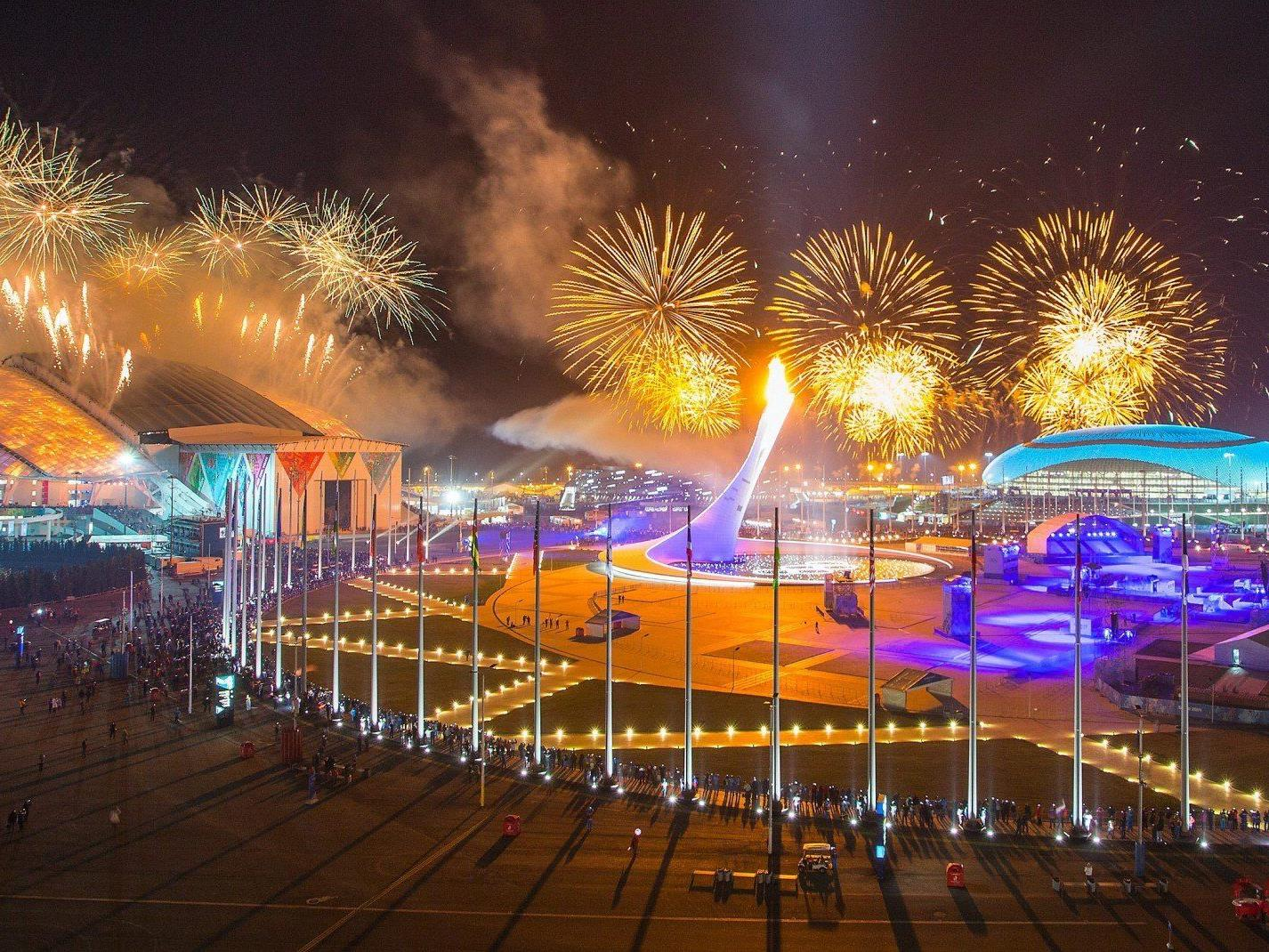 Lasset die Spiele beginnen: Olympia 2014 feierlich eröffnet.