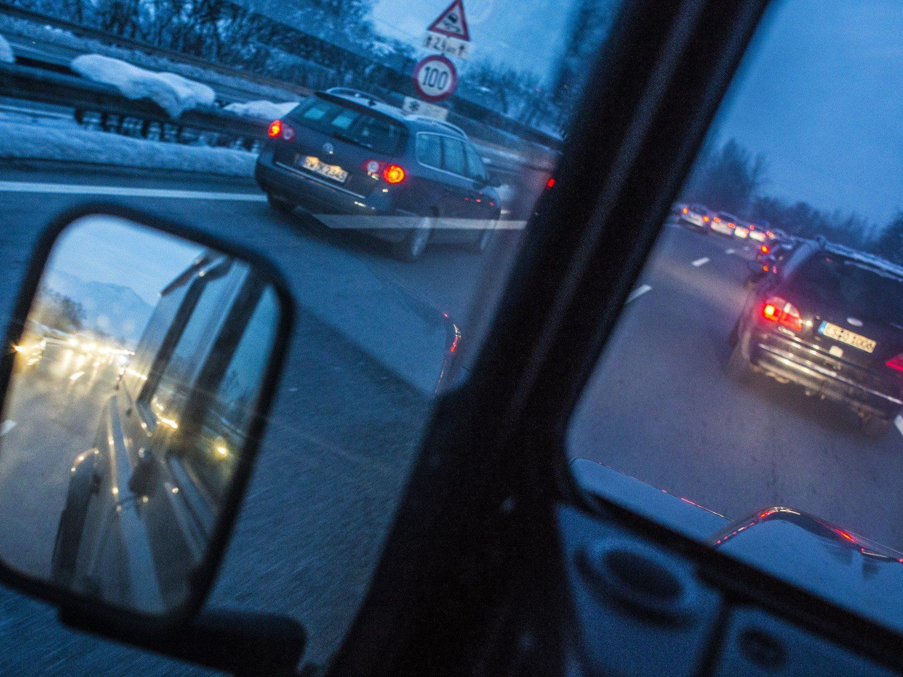 Asfinag und ÖAMTC warnten vor erhöhtem Verkehrsaufkommen in Vorarlberg.