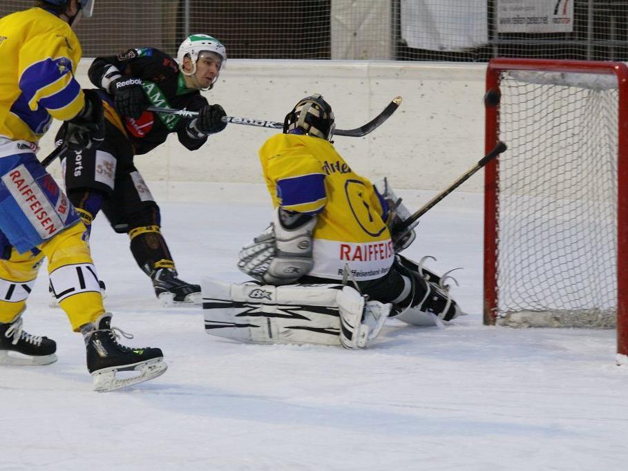 Andreas Beiter gelang im Heimspiel gegen Schlusslicht Uzwil das 100. Meisterschaftstor. Rankweil gewann mit 7:1.