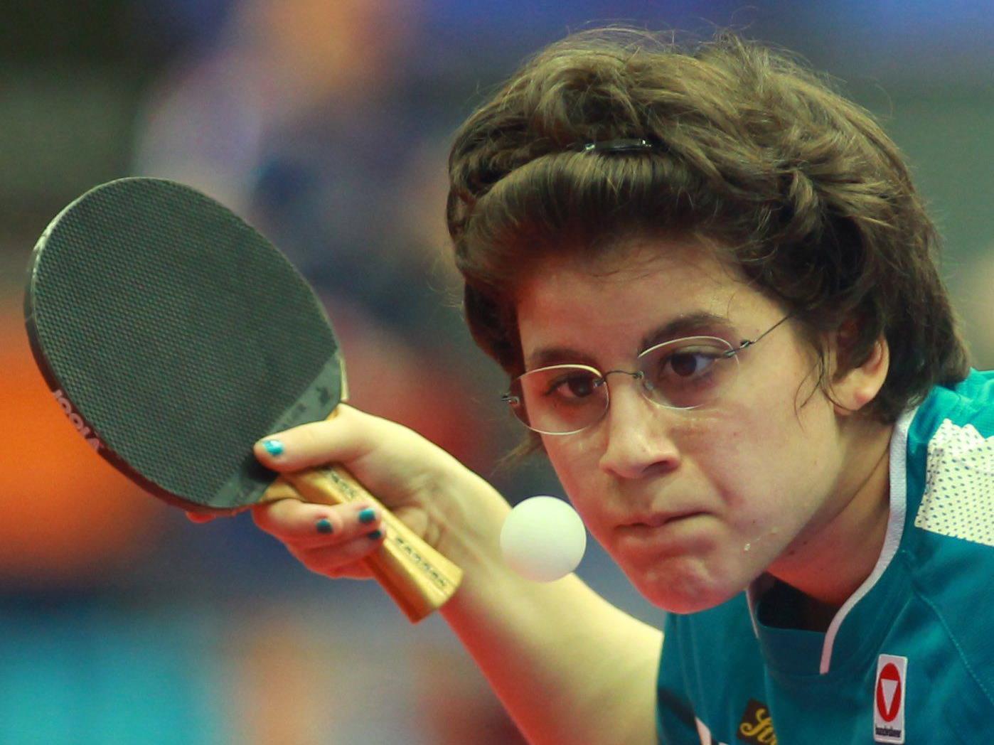 Die Nummer 62 der Weltrangliste, Amelie Solja ist als Nummer zwei in Dornbirn bei den ÖM gesetzt.
