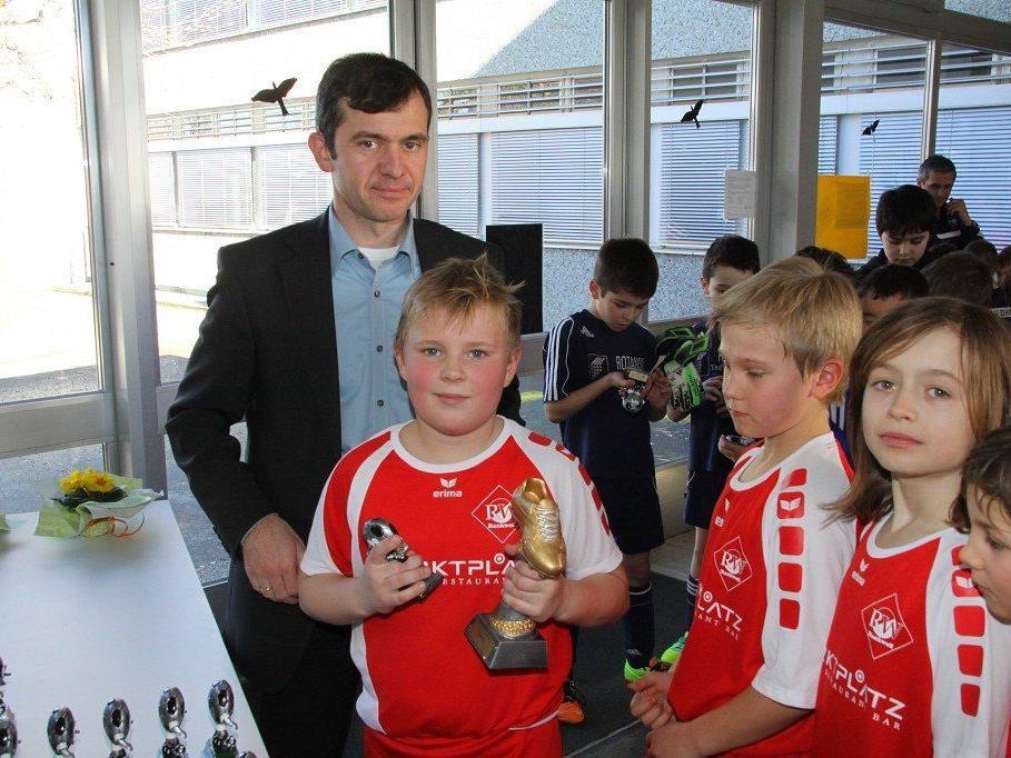 Für Rankweil Bürgermeister Martin Summer ist der FC RW Rankweil großes Vorbild in Sachen Nachwuchsarbeit.