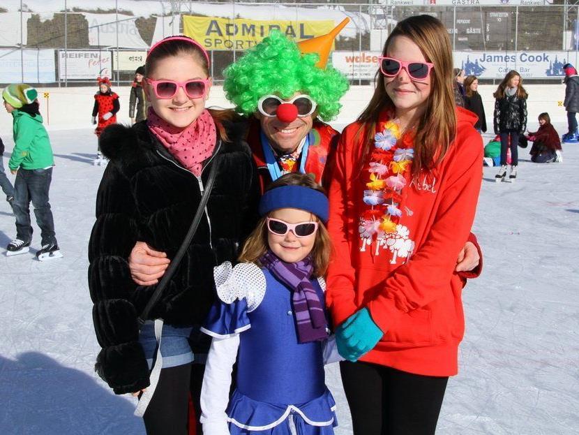 Das traditionelle Faschings-Eislaufen in Rankweil geht am Samstag über die Bühne.