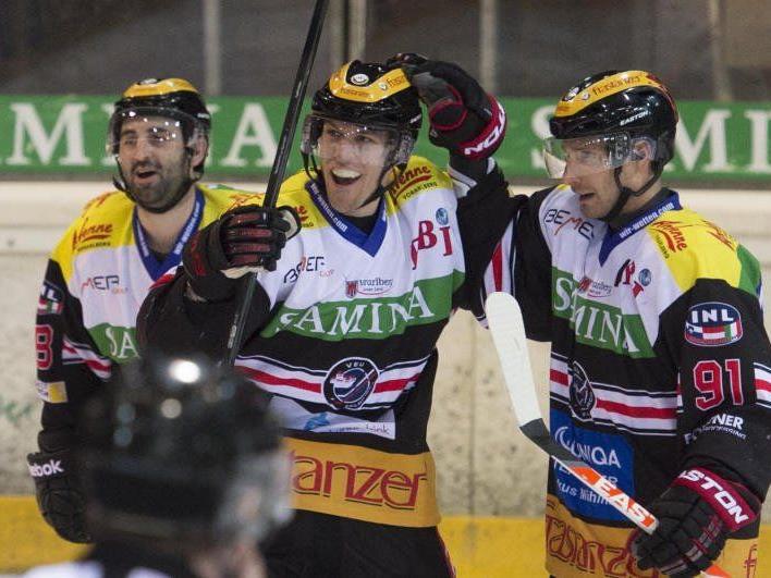 Dank des 6:4-Heimsieg gegen Jesenice steht die VEU Feldkirch völlig zurecht im Viertelfinale der INL.