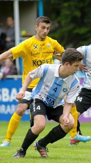 Mit 18 Jahren muss Hard-Spieler Benedikt Böhler seine aktive Laufbahn schon beenden.