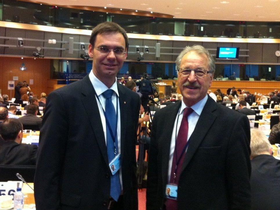 Alt-Bürgermeister soll Wallners Mann in Brüssel werden.