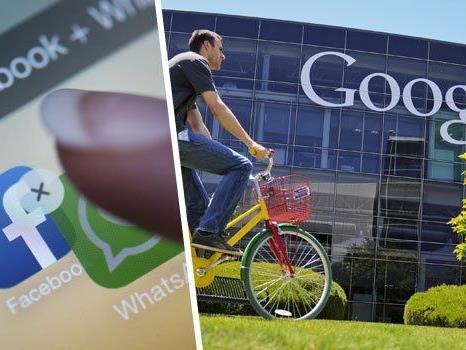 Google dementiert, für WhatApp noch mehr geboten zu haben als die 19 Mrd. Dollar von Facebook.