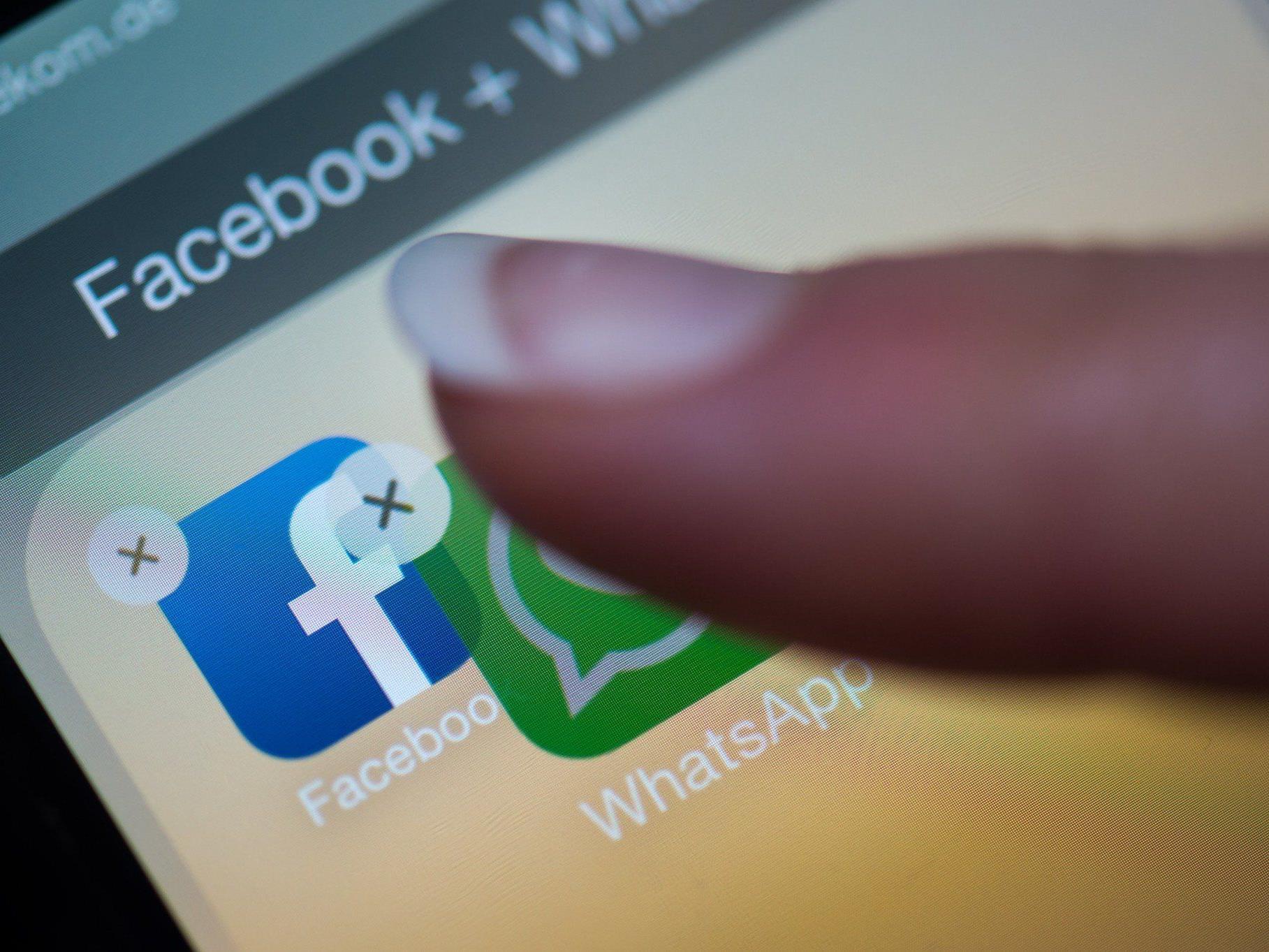 Facebook verleibt sich Rivalen WhatsApp ein