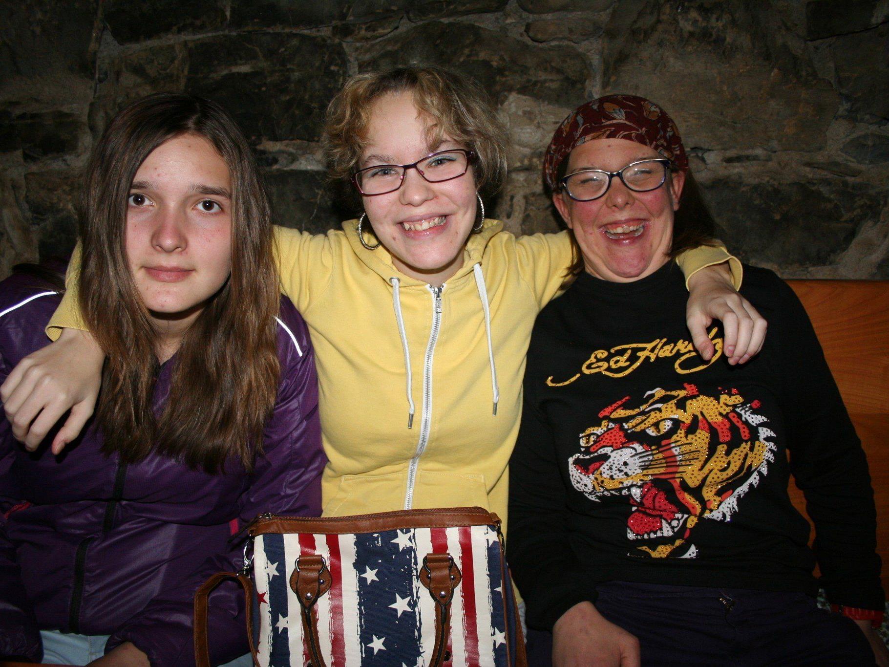 Hannah, Rebekka und Dorothee.