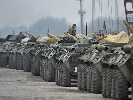Ukraine prüft Gefechtsbereitschaft der Armee