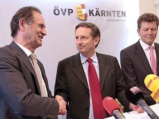 Führungswechsel: Obernosterer, Benger, Waldner