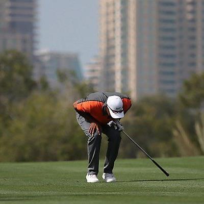 Wie schon in Dubai schmerzte Woods' Rücken