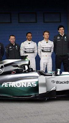 Das Mercedes-Team gilt als Favorit