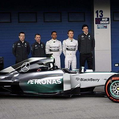 Das Mercedes-Team gilt als Favorit