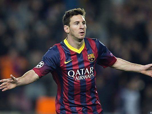 Messi traf für Barcelona