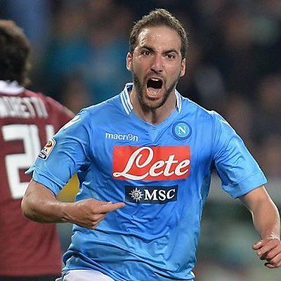 Higuain traf in der 90. Minute
