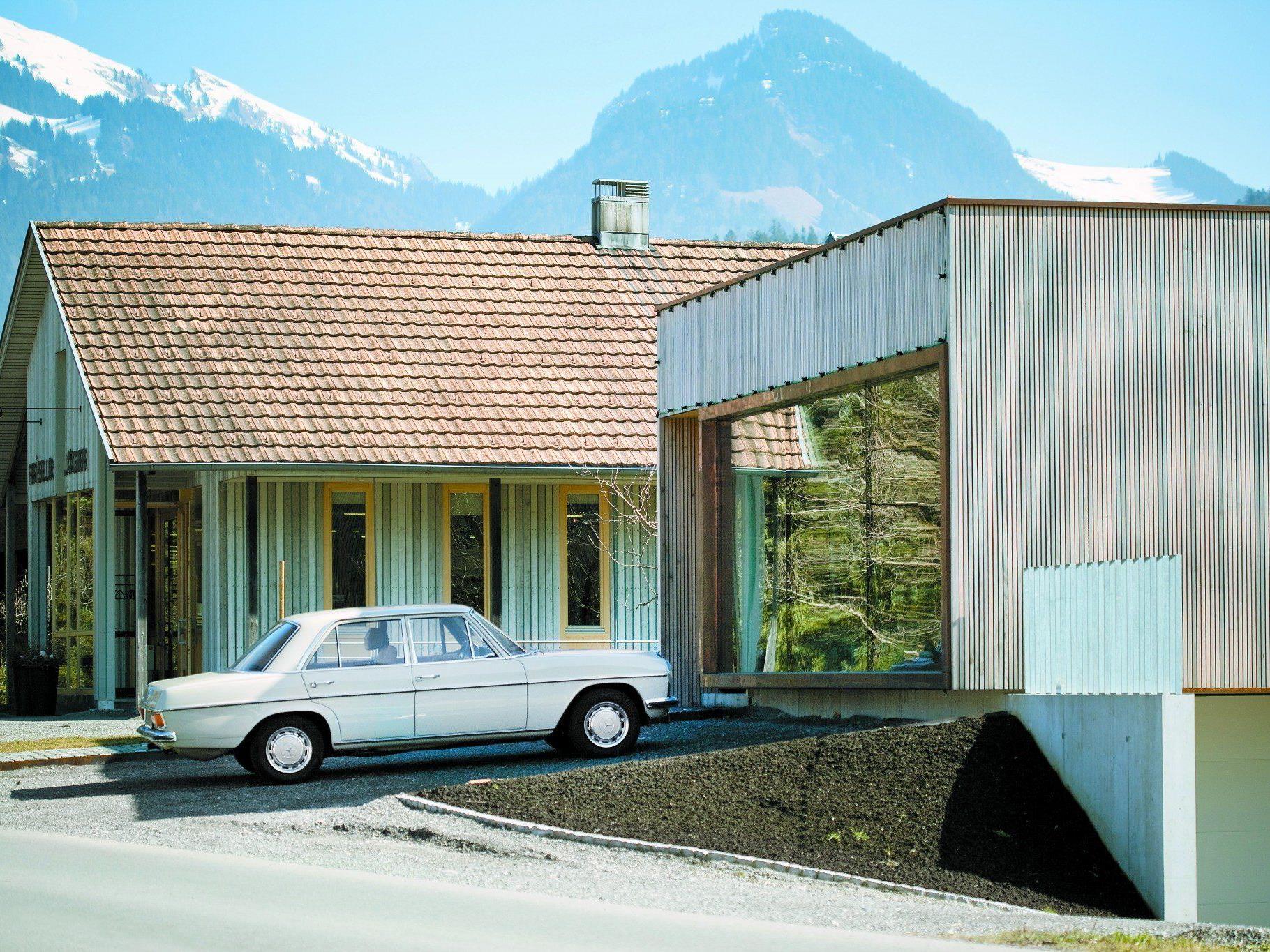 """""""Die Zusammenarbeit klappte von Anfang an problemlos. Unsere Architektursprachen waren ziemlich kompatibel"""" (Michael Felder und Markus Innauer, Architekten)"""