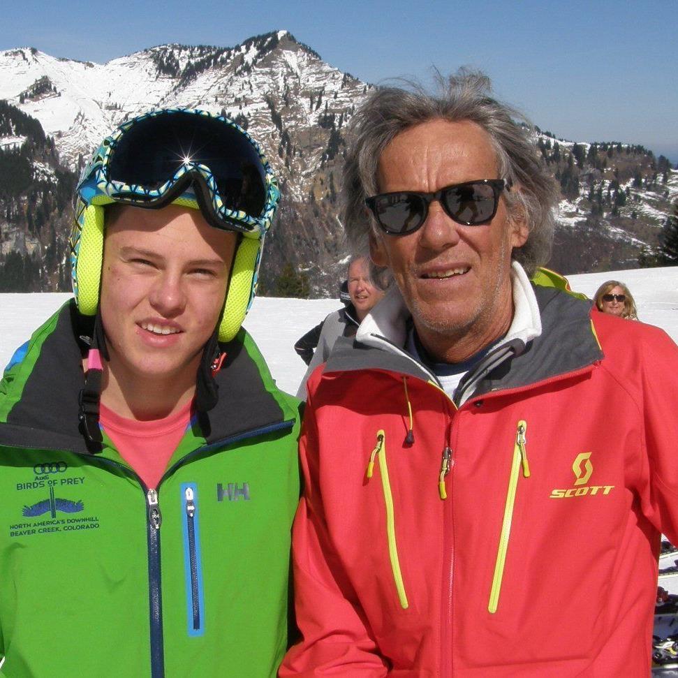 Thomas Dorner mit seinem Vater Reinhard.