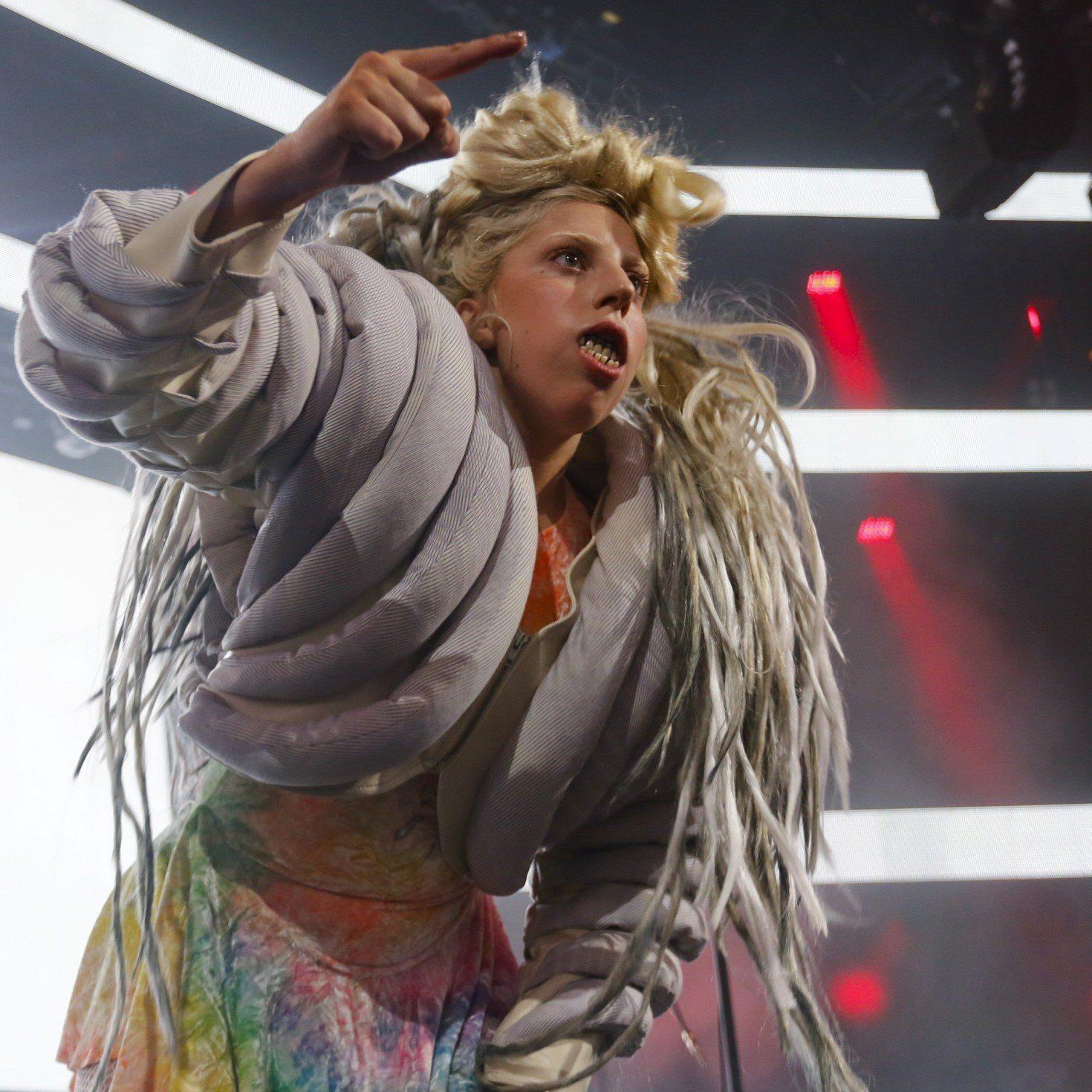 Lady Gaga während eines Auftrittes beim SXSW-Festival in Texas.