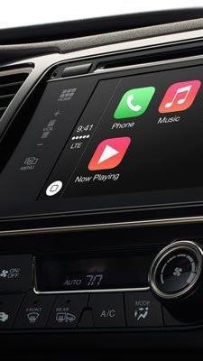 Künftig auch Apples Karten und Siri-Sprachsteuerung integriert.